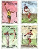 Ref. 52349 * MNH * - TOGO. 1988. GAMES OF THE XXIV OLYMPIAD. SEOUL 1988 . 24 JUEGOS OLIMPICOS VERANO  SEUL 1988 - Togo (1960-...)