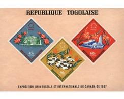 Ref. 92253 * MNH * - TOGO. 1967. EXPO 67. WORLD EXHIBITION . EXPO 67. EXPOSICION UNIVERSAL DE MONTREAL - Togo (1960-...)