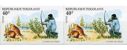 Ref. 260827 * MNH * - TOGO. 1975. HUNTING ANIMALS . ANIMALES DE CAZA - Togo (1960-...)