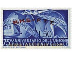 Ref. 90242 * MNH * - TRIESTE A Zone. 1949. 75th ANNIVERSARY OF UPU . 75 ANIVERSARIO DE LA UPU - Nuovi