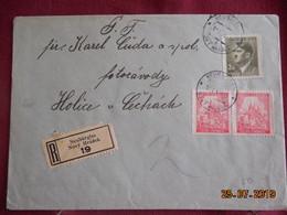 Lettre En Recommandé De 1943 - Bohême & Moravie
