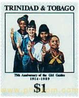 Ref. 267098 * MNH * - TRINIDAD AND TOBAGO. 1989. ANNIVERSARIES . ANIVERSARIOS - Trinidad & Tobago (1962-...)