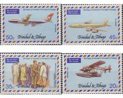 Ref. 366013 * MNH * - TRINIDAD AND TOBAGO. 1977. 50 AÑOS DE LA AVIACION EN TRINIDAD Y TOBAGO - Trinidad & Tobago (1962-...)