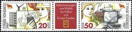 German Democratic Republic 1987 - Mi Wzd708 - YT 2708A ( Congress Of Trade Union ) - Used Stamps