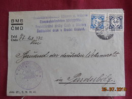 Lettre De 19... à Destination De Pardubice - Bohême & Moravie