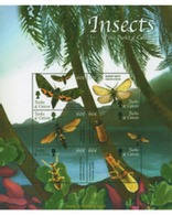 Ref. 236725 * MNH * - TURKS AND CAICOS Islands. 2002. INSECTS . INSECTOS - Turks E Caicos