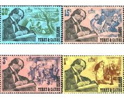 Ref. 187951 * MNH * - TURKS AND CAICOS Islands. 1970. CENTENARY OF THE DEATH OF CHARLES DICKENS . CENTENARIO DE LA MUERT - Turks E Caicos