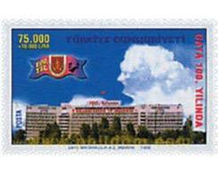 Ref. 65421 * MNH * - TURKEY. 1998. CENTENARIO DE LA ACADEMIA SANITARIA MILITAR - Gebruikt