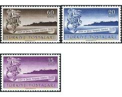 Ref. 299613 * HINGED * - TURKEY. 1947. 3 CONGRESO INTERNACIONAL VÍNICOLA EN ESTAMBUL - Frutas