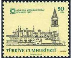 Ref. 173167 * MNH * - TURKEY. 1983. PREMIO AGA KHAN PARA LA ARQUITECTURA - Arquitectura