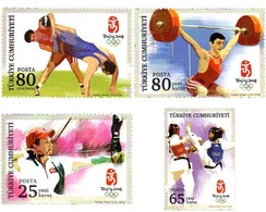 Ref. 220143 * MNH * - TURKEY. 2008. PEKING OLYMPIC GAMES . 29 JUEGOS OLIMPICOS VERANO PEKÍN 2008 - Cartas