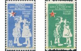 Ref. 600327 * MNH * - TURKEY. 1955. INFANCY . INFANCIA - 1921-... República