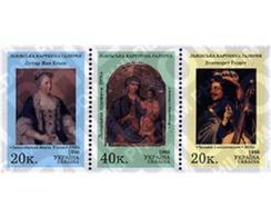 Ref. 5700 * MNH * - UKRAINE. 1998. PINTURAS DE LA GALERIA LVIV - Religiones