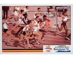 Ref. 234355 * MNH * - UGANDA. 1991. GAMES OF THE XXV OLYMPIAD. BARCELONA 1992 . 25 JUEGOS OLIMPICOS VERANO BARCELONA 199 - Summer 1992: Barcelona