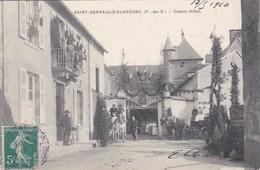 SAINT GERVAIS D'AUVERGNE ,castel Hotel CHASSAGNETTE - Saint Gervais D'Auvergne