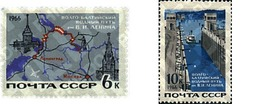 Ref. 357017 * MNH * - SOVIET UNION. 1966. MODERN TRANSPORT . TRANSPORTES MODERNOS - Eisenbahnen