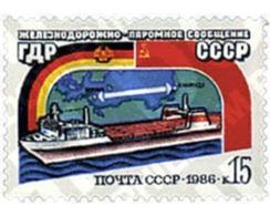 Ref. 57665 * MNH * - SOVIET UNION. 1986. INAUGURATION OF THE MUKRAN-KLAIPEDA FERRY . INAUGURACION DEL FERRY ENTRE MUKRAN - Eisenbahnen