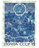 Ref. 57630 * MNH * - SOVIET UNION. 1972. 50th ANNIVERSARY OF THE AUTONOMOUS REPUBLICS OF  IAKOUTIE AND TCHETCHENO-INGOUT - Eisenbahnen
