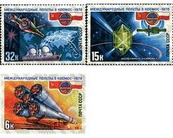 Ref. 57643 * MNH * - SOVIET UNION. 1978. SPACE CO-OPERATION WITH POLAND . COOPERACION ESPACIAL CON POLONIA - Eisenbahnen