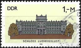 Germany GDR 1986 - Mi 3035 - YT 2656 ( Castle Of Ludwigslust ) - Used Stamps