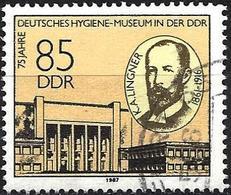 German Democratic Republic 1987 - Mi 3089 - YT 2706 ( K. A. Lingner, Museum ) - Used Stamps
