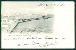 A14 MOROCCO MAROC MARRUECOS CPA HAFEN VON MAZAGAN - WATER PORT - Andere
