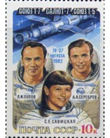 Ref. 357634 * MNH * - SOVIET UNION. 1983. ASTRONAUTS . ASTRONAUTAS - Ungebraucht
