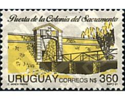 Ref. 297308 * MNH * - URUGUAY. 1991. HISTORY OF URUGUAY . HISTORIA DE URUGUAY - Uruguay