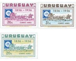 Ref. 28832 * MNH * - URUGUAY. 1956. CENTENARIO DEL PRIMER SELLO DE URUGUAY - Timbres Sur Timbres