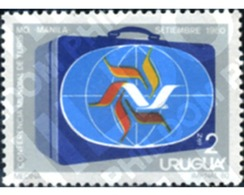 Ref. 297120 * MNH * - URUGUAY. 1981. WORLD TOURISM CONFERENCE IN MANILA . CONFERENCIA MUNDIAL DE TURISMO EN MANILA - Ferien & Tourismus