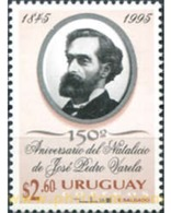Ref. 297453 * MNH * - URUGUAY. 1995. 150 ANIVERSARIO DEL NACIMIENTO DE JOSE PEDRO VARELA - Uruguay