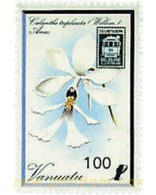 Ref. 59973 * MNH * - VANUATU. 1989. STAMPSHOW 89. INTERNATIONAL PHILATELIC EXHIBITION . STAMPSHOW 89. EXPOSICION FILATEL - Eisenbahnen