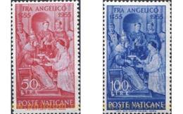 Ref. 115785 * MNH * - VATICAN. 1955. 5th CENTENARY OF THE DEATH OF FRAY ANGELICO . 5 CENTENARIO DE LA MUERTE DE FRAY ANG - Nuovi