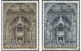 Ref. 115893 * MNH * - VATICAN. 1960. OPENING OF ROMAN DIOCESAN SYNODE . APERTURA DEL SINODO DIOCESANO ROMANO - Nuovi