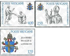 Ref. 116864 * MNH * - VATICAN. 1979. POPE JOHN PAUL I . PAPA JUAN PABLO II - Unused Stamps