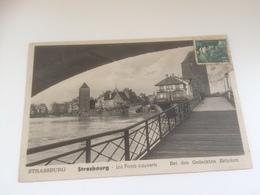 CA - 100 - STRASSBURG I.E. - Bei Den Gedeckten Brucken - Strasbourg