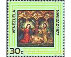Ref. 177443 * MNH * - VENEZUELA. 1977. CHRISTMAS 1977 . NAVIDAD 1977 - Venezuela