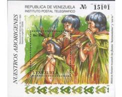Ref. 178452 * MNH * - VENEZUELA. 1993. ABORIGENES VENEZOLANOS - Música