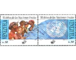Ref. 178553 * MNH * - VENEZUELA. 1995. 50th ANNIVERSARY OF THE UN . 50 ANIVERSARIO DE LAS NACIONES UNIDAS - Venezuela