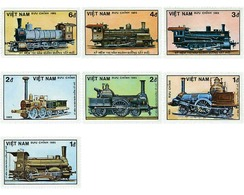 Ref. 60029 * MNH * - VIET NAM. 1985. 150th ANNIVERSARY OF THE GERMAN RAILWAYS . 150 ANIVERSARIO DE LOS FERROCARRILES ALE - Vietnam