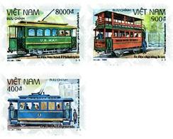 Ref. 60393 * MNH * - VIET NAM. 1994. TRAMS . TRANVIAS - Viêt-Nam