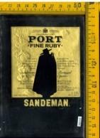 Etichetta Vino Liquore Port Fine Ruby-Sandeman  Portogallo - Etichette