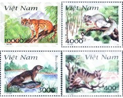 Ref. 89087 * MNH * - VIET NAM. 1997. ANIMALES DEL PARQUE NACIONAL DE CAT BA - Viêt-Nam