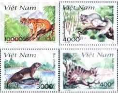 Ref. 89087 * MNH * - VIET NAM. 1997. ANIMALES DEL PARQUE NACIONAL DE CAT BA - Vietnam