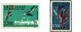 Ref. 594232 * HINGED * - NORTH VIETNAM. 1967. 2.500 PLANES DEMOLISHED . 2500 AVIONES ABATIDOS - Vietnam