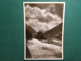 Cartolina Gressoney La Trinitè - Torrente LYS - 1943 - Non Classificati