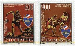 Ref. 67365 * MNH * - YUGOSLAVIA. 1998. FOOTBALL WORLD CUP. FRANCE-98 . COPA DEL MUNDO DE FUTBOL. FRANCIA-98 - Coppa Del Mondo