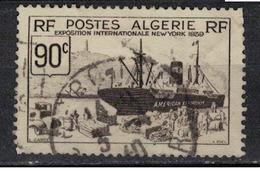 ALGERIE               N°     YVERT  155          OBLITERE       ( Ob  3/14 ) - Algerien (1924-1962)