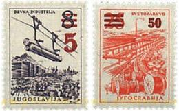 Ref. 60305 * MNH * - YUGOSLAVIA. 1965. INDUSTRIALIZATION . INDUSTRIALIZACION - Eisenbahnen