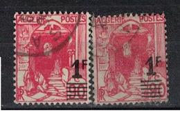 ALGERIE               N°     YVERT  158/58A         OBLITERE       ( Ob  3/14 ) - Usati